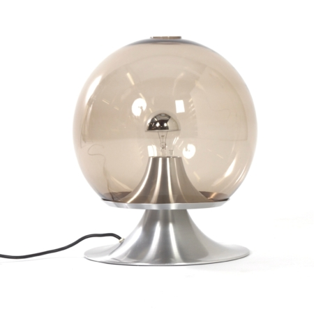 Table Lamp Dream Island by Raak Amsterdam, 1960 – Large Version in Smoked Glass | Mid Century Design