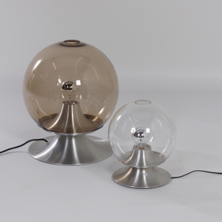 Table Lamp Dream Island by Raak Amsterdam, 1960 – Large Version in Smoked Glass