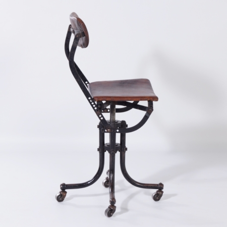 """Ergonomic """"Do More Chair"""" by Tan Sad, England for Ahrend, 1920s"""