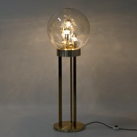 Sputnik Floor Lamp by Doria Leuchten, Germany, 1970s