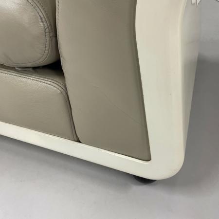 Leather Amanta Modular Sofa by Mario Bellini for B&B Italia, 1966