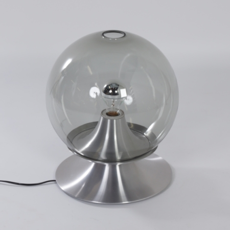 Dream Island Table Lamp by Raak Amsterdam, 1960 – Large Version in Transparent Glass