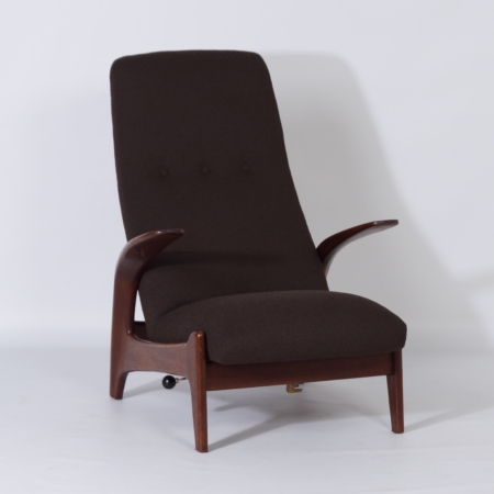 Lounge chair with Foot Stool by Rastad and Relling for Gimson & Slater, 1960s – Rock 'n Rest
