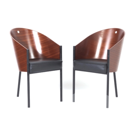 Pair Costes Dining Chairs by Philippe Starck for Driade, 2000s | Mid Century Design