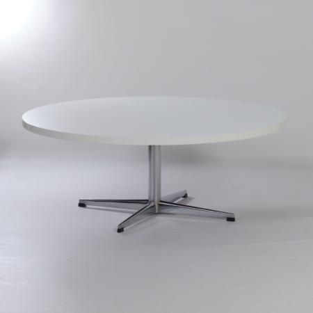 Round Coffee Table  with Star Base by Pastoe, 1970s