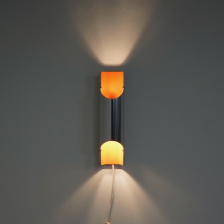 Wall lamp Pandean by Bent Karlby for Lyfa, 1970s