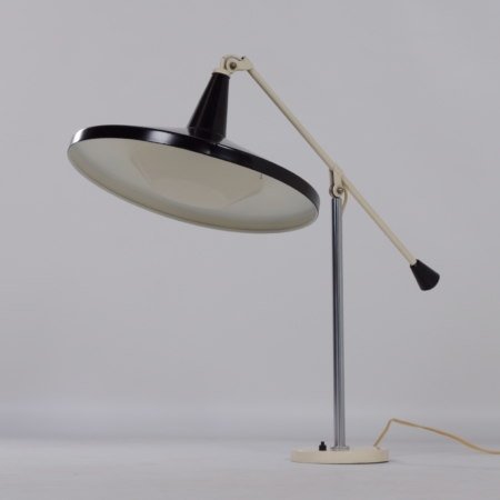 Panama Desk lamp 5350 by Wim Rietveld for Gispen, 1956 – Black