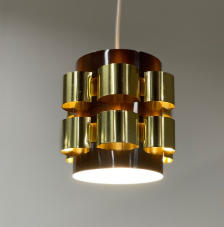Danish Pendant by Werner Schou for Coronell Elektro, 1970s