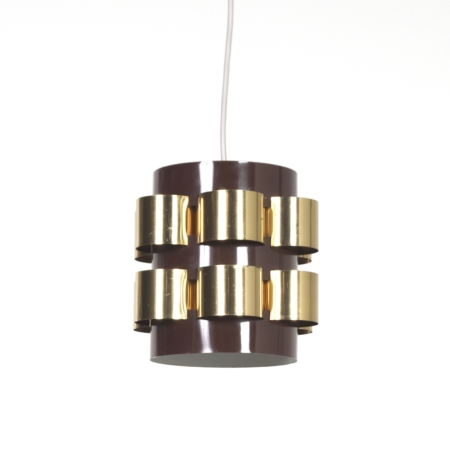 Danish Pendant by Werner Schou for Coronell Elektro, 1970s | Mid Century Design