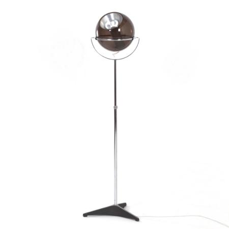 Raak Globe Floor Lamp by Frank Ligtelijn, 1960s – 1ste edition | Mid Century Design
