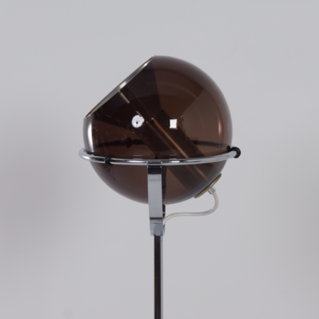 Raak Globe Floor Lamp by Frank Ligtelijn, 1960s – 1ste edition
