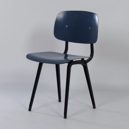 Blue Revolt Chair by Friso Kramer for Ahrend de Cirkel, 1950s