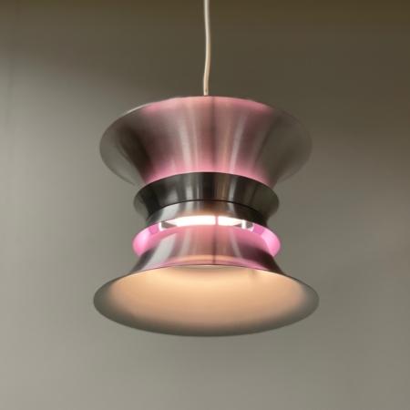 Danish Aluminum Hanging Lamp by Frandsen Lyskilde, 1990s