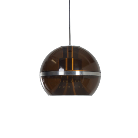 Large Globe Pendant Lamp by Dijkstra Lamps, 1970s | Mid Century Design