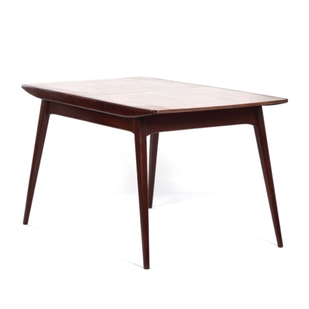 Teak Dining Table by Louis van Teeffelen for Wébé, 1950s | Mid Century Design