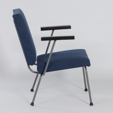 Blue 1401 Armchair by Wim Rietveld for Gispen, 1950s