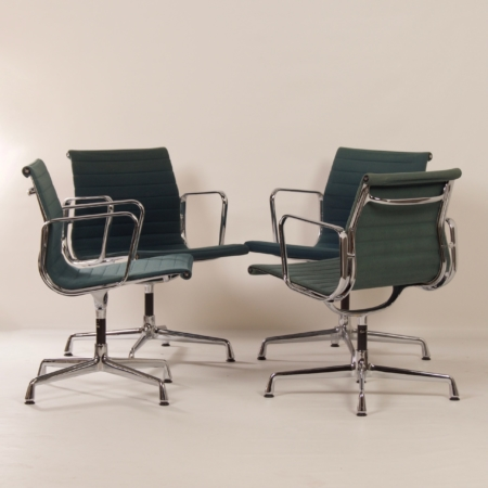 EA 107 Chairs by Charles & Ray Eames for Vitra, 1980s | Set of (2)