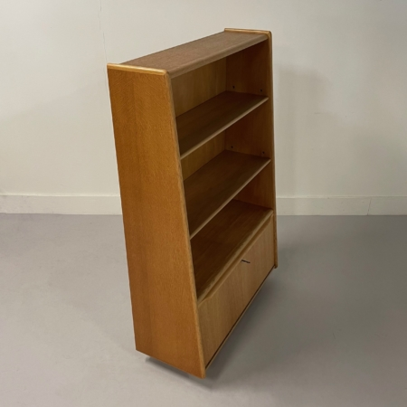 BE03 Bookcase (Oak series) by Cees Braakman for UMS Pastoe, 1950s