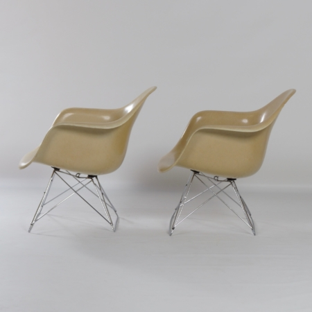 Set LAR Armchairs by Charles & Ray Eames for Herman Miller, 1970s