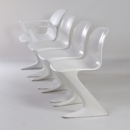 Set Kangaroo Chairs by Ernst Moeckl for Horn, 1968