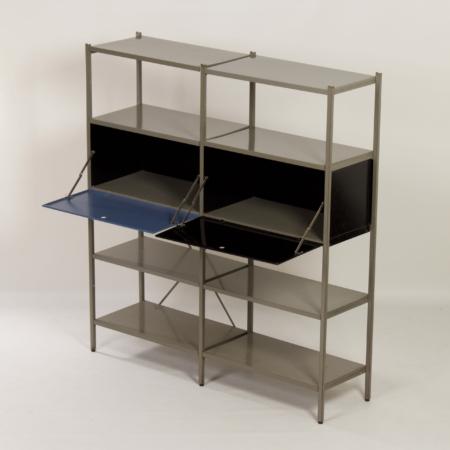 Model 663 by Wim Rietveld for Gispen, 1950s (4) – Black en Blue