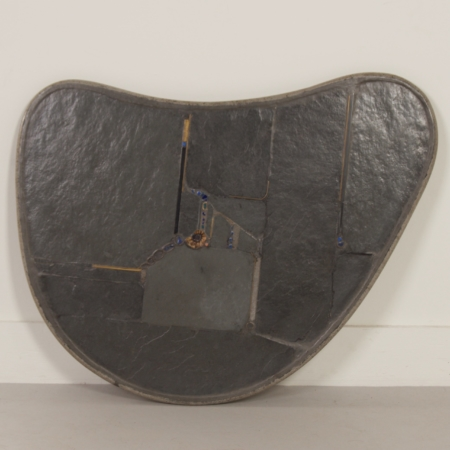 Kidney-Shaped Natural Stone Coffee table by Paul Kingma, 1995