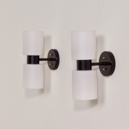 Set Wall Lamps by J.W. Boxman for Raak in the 1960s