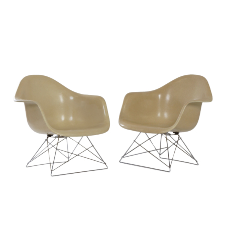 Set LAR Armchairs by Charles & Ray Eames for Herman Miller, 1970s | Mid Century Design