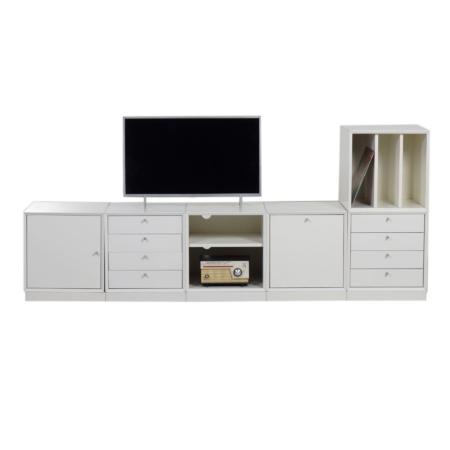 Modular Storage Cubes Cabinet, 1970s – 6 White Cabinets | Mid Century Design