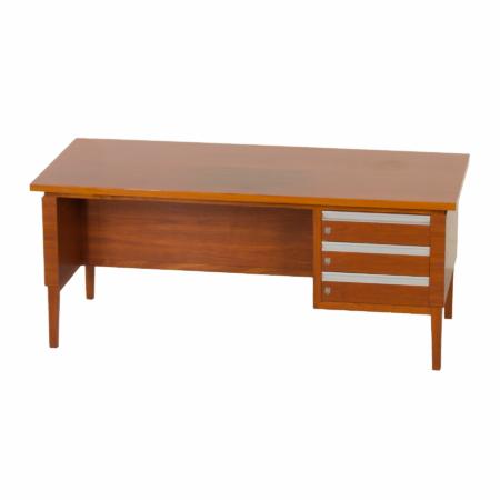 Mahogany Executive Desk, 1970s | Mid Century Design