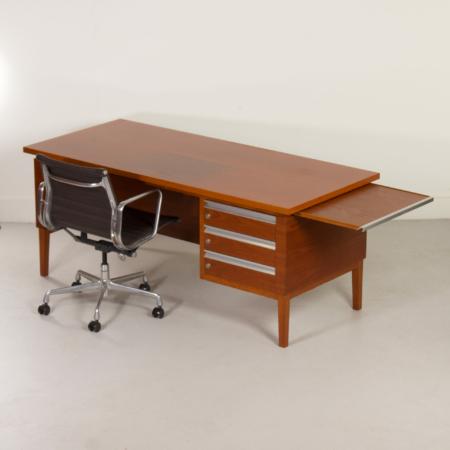 Mahogany Executive Desk, 1970s