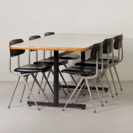 Large Dining or Conference Table by Just Meijer for Kembo, 1960s