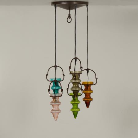 Stalactite Pendant Lamp by Nanny Still for Massive & Val Saint Lambert, 1960s