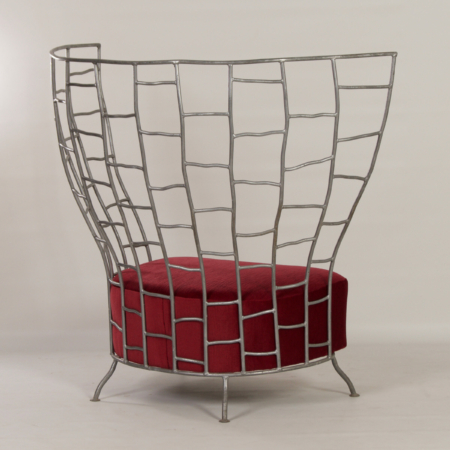Sculptural Chair by Boda Horak for Anthologie Quartett, 2000s