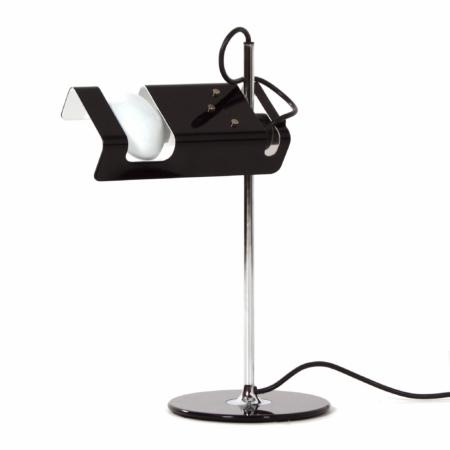 Black Spider Desk Lamp by Joe Colombo for Oluce, 1990s | Mid Century Design