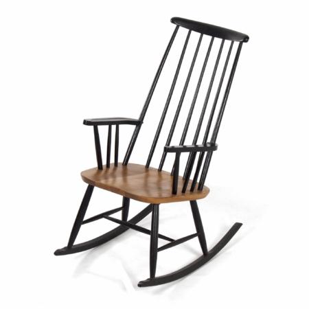 Danish Rocking Chair Attributed to Ilmari Tapiovaara, 1960s | Mid Century Design