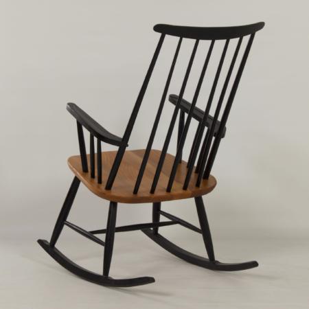 Danish Rocking Chair Attributed to Ilmari Tapiovaara, 1960s