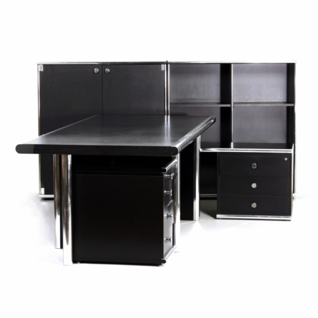 Executive Desk 'BiG' by G. Faleschini for i4 Mariani Italy, 2000s | 5-Piece | Mid Century Design