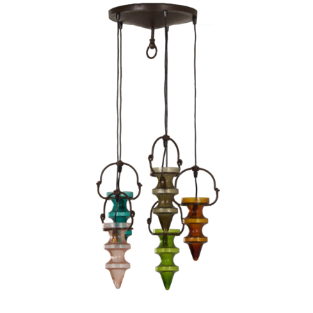 Stalactite Pendant Lamp by Nanny Still for Massive & Val Saint Lambert, 1960s | Mid Century Design