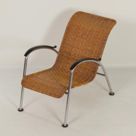 Gispen 404 Chair by W.H. Gispen for Gispen, 1950s