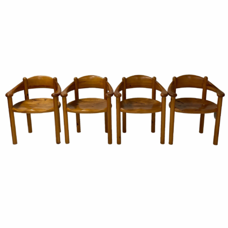 Danish Dining Chairs by Rainer Daumiller for Hirtshals Sawmill, 1960s | Set of 4 | Mid Century Design