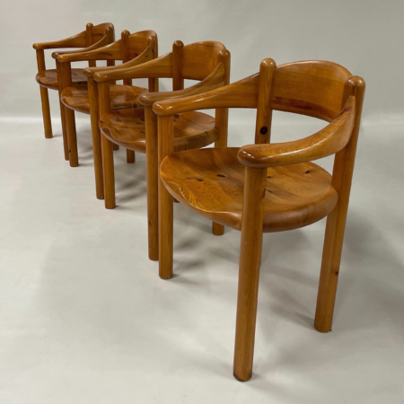 Danish Dining Chairs by Rainer Daumiller for Hirtshals Sawmill, 1960s | Set of 4