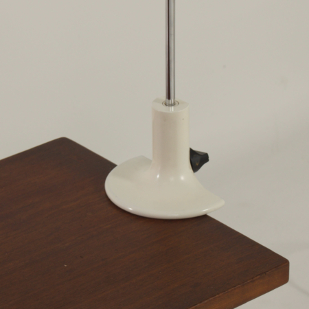 White Spider Table Lamp by Joe Colombo for Oluce, 1970s
