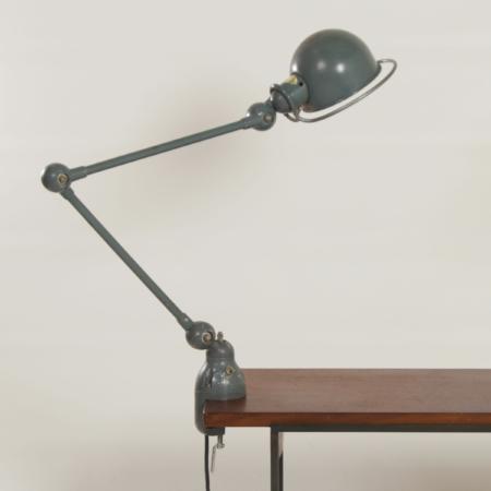 Desk Clamp lamp by Jean-Louis Domecq for Jielde, 1950s
