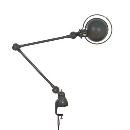 Desk Clamp lamp by Jean-Louis Domecq for Jielde, 1950s | Mid Century Design