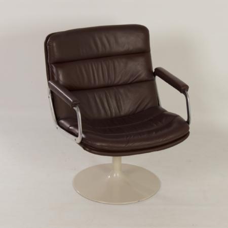 Mid century Swivel Chair 798 by Geoffrey Harcourt for Artifort, 1960s