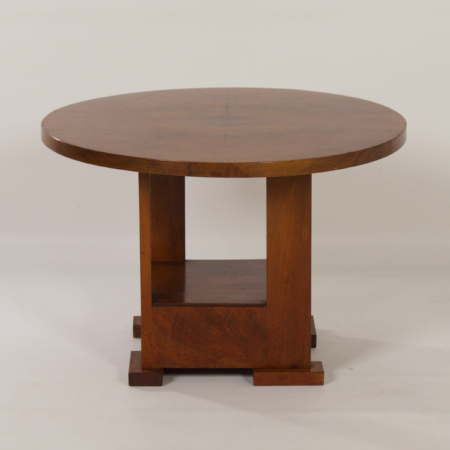 Art Deco Coffee Table by Bas van Pelt for My Home, 1930s