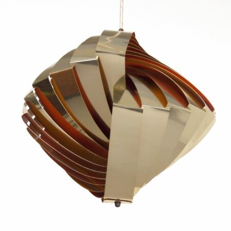 Danish Konkylie Pendant by Louis Weisdorf for Lyfa, 1960s