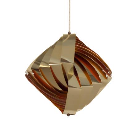 Danish Konkylie Pendant by Louis Weisdorf for Lyfa, 1960s | Mid Century Design