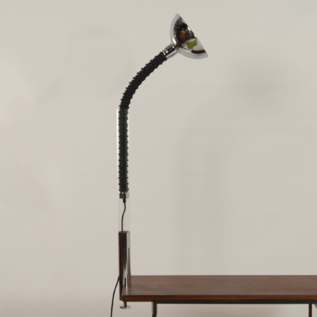 Chrome Table  Lamp with Flexible Arm from Cosack, 1970s